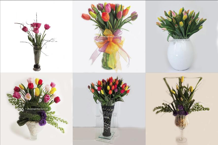 La Nueva Ola En Arreglos Florales Flores Elegantes De México